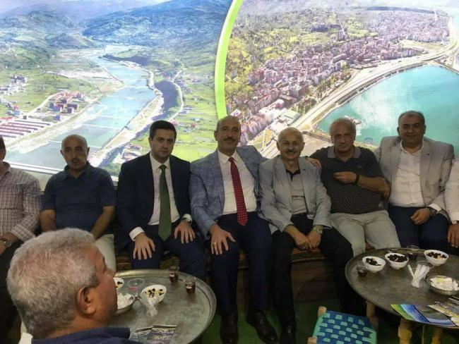 Ekşioğlu Vakfı Olarak İstanbul Maltepe de Yapılan Rize Tanıtım  standtlarına Ziyaret